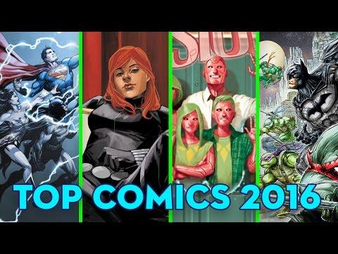 Top 10 Comics of 2016!