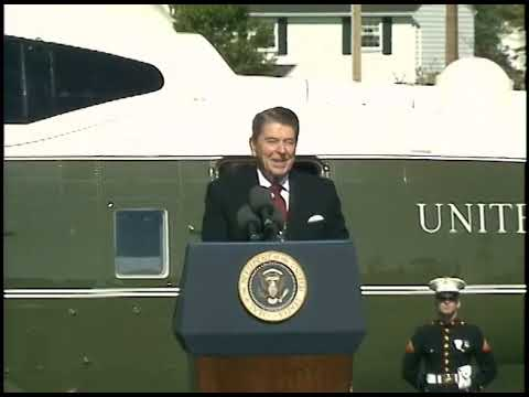 President Reagan's Remarks at Adlai Stevenson High School in Sterling Heights on October 7, 1988