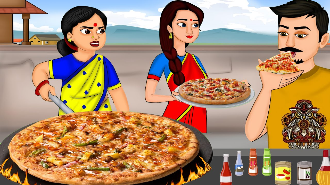 అత్త కోడళ్ల-చికెన్ పిజ్జా వ్యాపారం | Atha Kodalu | Neethi Kathalu | Telugu Stories