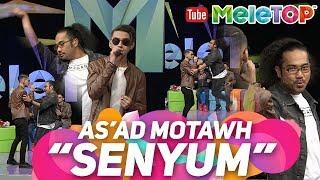 Johan jadi backup dancer As 39 ad Motawh nyanyi Senyum Persembahan LIVE MeleTOP