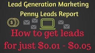 Lead Generation Marketing - Penny Leads Report. Get leads for …