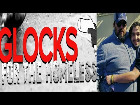 Glocks For The Homeless - Tulsa OK Grass Roots Charity Group - Final Winter Drive 2018