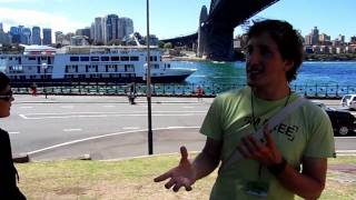 """i Am Free"" Sydney Walking Tour #8: Luna Park & Sydney Harbour Bridge (brasileiro Na Australia)"