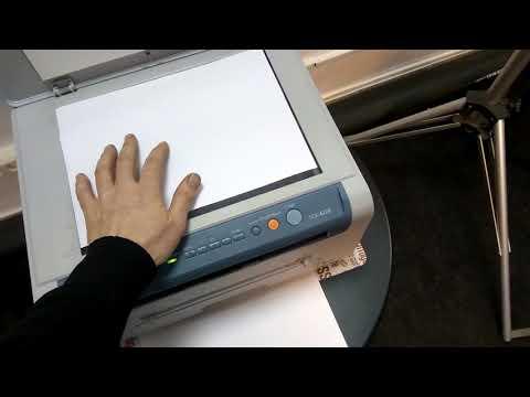 Samsung SCX 4220 работа копира
