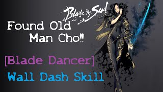 blade and soul   found old man cho   evil ox horn   misty woods   wall dash skill