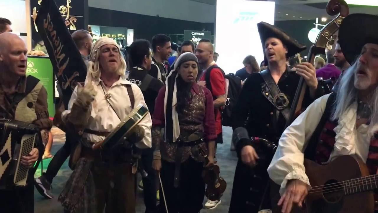 E3 2016 Skullduggers Sea Of Thieves Shanties 3 YouTube