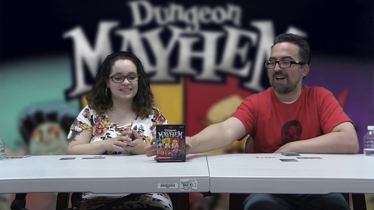 Dungeon Mayhem! Playthrough - Orc Barbarian Versus Tiefling Rogue