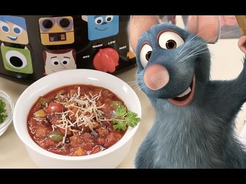How To Make Slow Cooker Ratatouille | Dishes By Disney