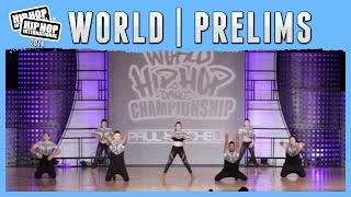 Paranoise - Israel (Adult) at the 2014 HHI World Prelims