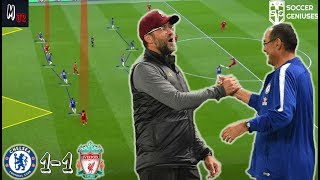 The Best Tactical Match So Far? Chelsea 1-1 Liverpool / Tactical Analysis