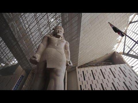Grand Egyptian Museum prepares to house Tutankhamun collection
