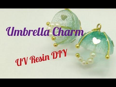 UV Resin DIY Umbrella Charm