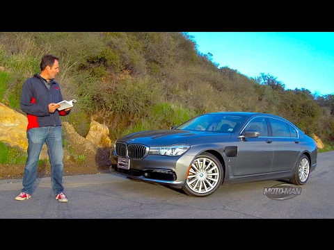 2017 BMW 740e G12 7 Series Plug In Hybrid – FIRST DRIVE REVIEW: The world's fanciest PHEV? (2 of 2)