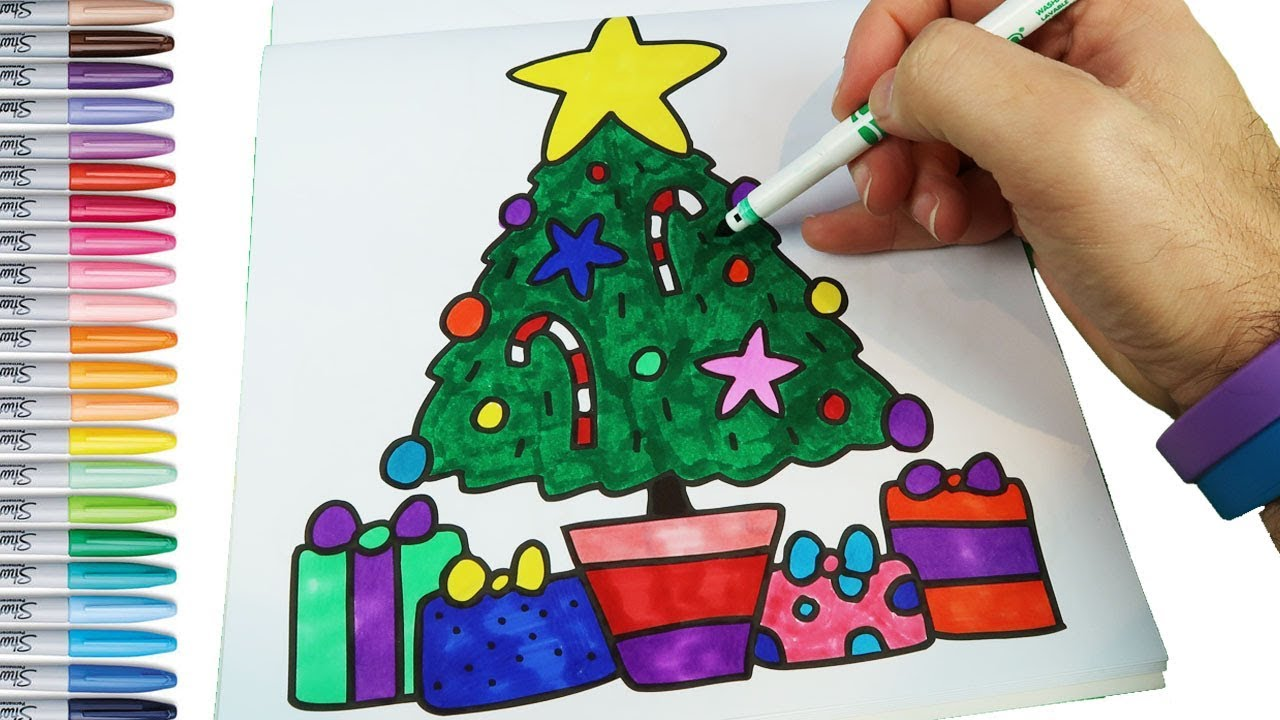 100+ [ Crayola Christmas Tree Coloring Page ] | Printable My Little ...
