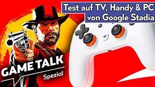 Google Stadia: Test, Unboxing, Vergleich -  Wie weit ist die Gaming-Zukunft? | Game Talk Spezial