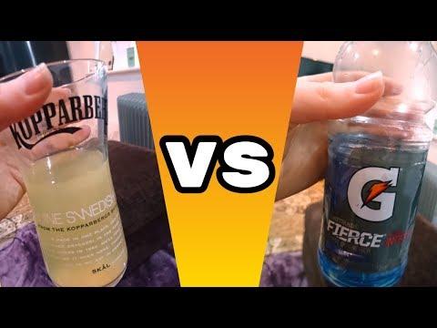 GATORADE VS HOMEMADE | Electrolyte Drink Test!