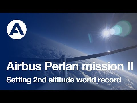 Airbus Perlan Mission II sets second altitude world record