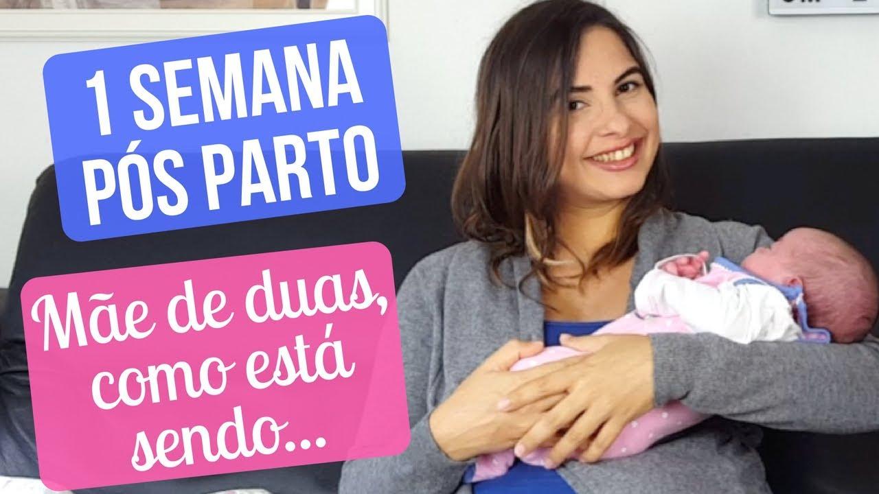 DIÁRIO DE UMA RECÉM PARIDA | 1 SEMANA PÓS PARTO | SOZINHA COM AS CRIANÇAS | CANSAÇO & MAIS... #1