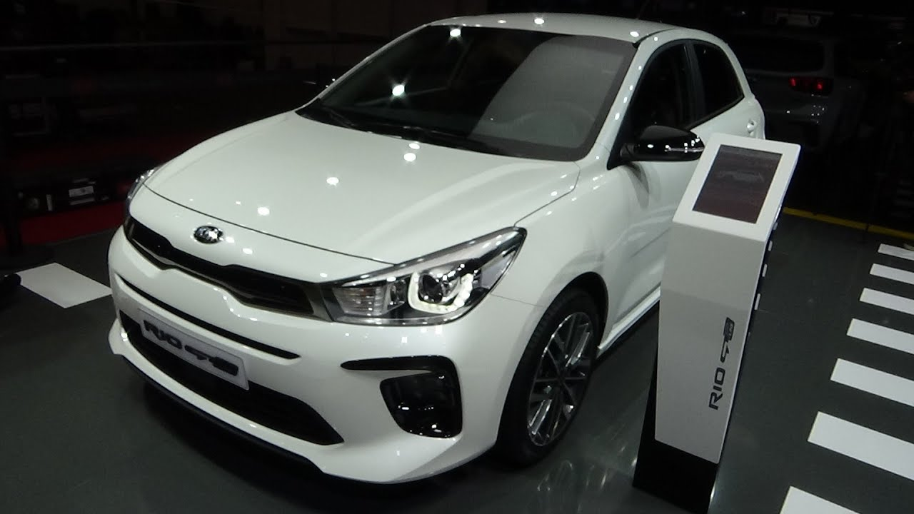 2019 Kia Rio >> 2019 Kia Rio Gt Line Exterior And Interior Geneva Motor Show