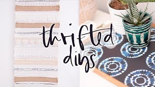 Upcycled Thrifted DIY Home Decor Projects | Summer 2017