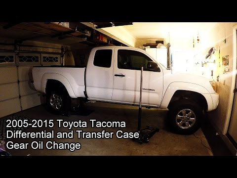 2005 2015 Toyota Tacoma 4x4 Differential And Transfer Case