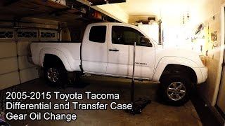 2005 2015 toyota tacoma 4x4 differential and transfer case. Black Bedroom Furniture Sets. Home Design Ideas