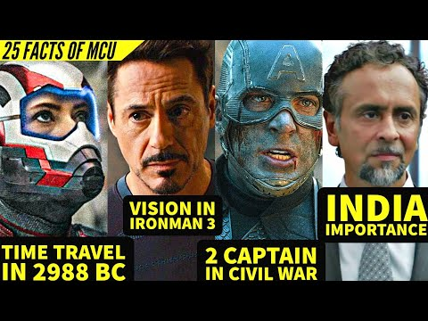 Another 25 Secret Facts Of MCU Explained in Hindi   SUPER INDIA  