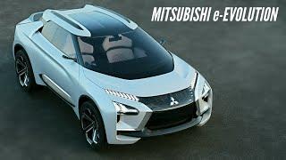 ALL NEW MITSUBISHI e-EVOLUTION CONCEPT – 4WD Electric SUV / Beautiful Sports Style Luxury SUV