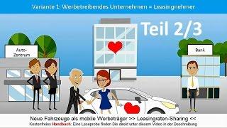 Leasingraten-Sharing: Wie geht das?   Neufahrzeuge als mobile Werbeträger 2/3