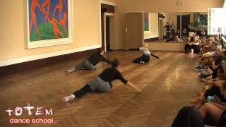 Открытый урок TDS 08/06/2013 - contemporary dance (medium) Irina Plotnikova