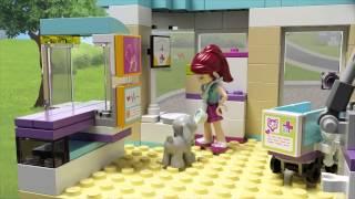 """Конструктор Lego """"Ветеринарная клиника"""" 41085"""