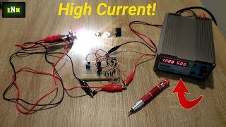 How To Make A Simple 12V High Current LED Light Flasher Circuit