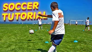 How to Cross a Football - Soccer Tutorial by freekickerz