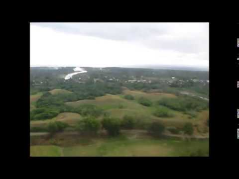 Landing in Honiara, Solomon Islands
