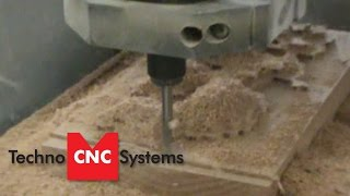 Techno Cnc Router - Bt1212 Benchtop Carving Wood