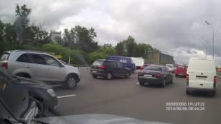авария 06 июня 2016 года на Горьковском шоссе