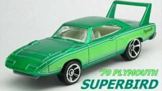"""#2-672 """"Chevroletor"""" vs """"Mazda Furai"""" vs """"Superbird"""" Hot Wheels.wmv"""