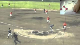 弘前アレッズVS鶴岡野球クラブ(1)