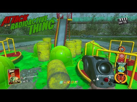 ATTACK OF THE RADIOACTIVE THING - MAIN EASTER EGG HUNT GAMEPLAY (INFINITE WARFARE ZOMBIES)