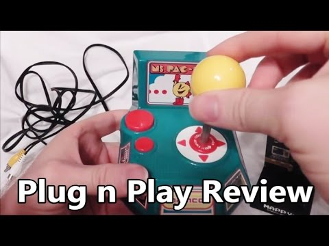 Ms. Pac-Man Plug 'N Play TV Games System Review - The No Swear Gamer Ep 14