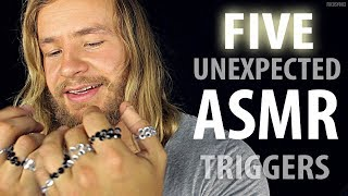 FIVE Unexpected [ASMR] TRIGGERS For Sleep 💤