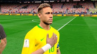 Brazil vs Costa Rica | Group E | FIFA World Cup Russia 22 June 2018 Gameplay