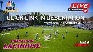 TBA vs Sacred Heart Academy || New York Lacrosse || LIVE-HD High School 2019
