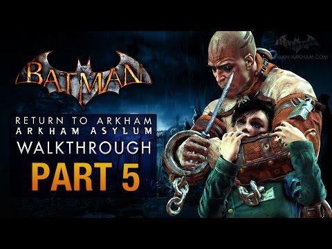 Batman: Return to Arkham Asylum Walkthrough - Part 5 - Arkham Mansion (Zsasz)