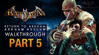 Batman: Return to Arkham Asylum Walkthrough - Part 5 - Arkham Mansion (Zsasz)