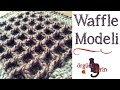 Waffle Örgü Modeli Yapılışı / Tığ İşi Örgü Modelleri