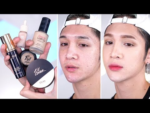 My Favorite Korean Full Coverage Cushions, Foundations, and Concealers - Edward Avila