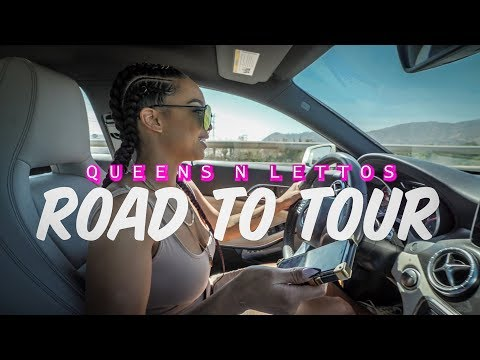 Road to Tour  - A Day at Angel Brinks | Aliya Janell