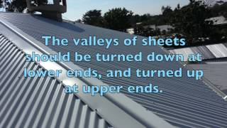 Corrugated Iron Sheets : Our most popular roofing sheet profile.