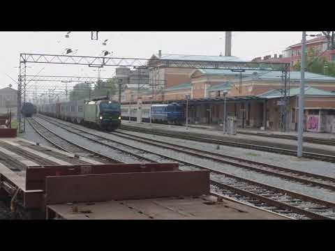 Siemens Vectron PPD Double Header/ Doppeltraktion In Rijeka Rail Station